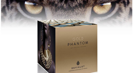 Devialet phantom Gold box