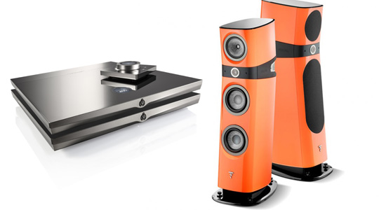 Devialet paired with focal Sopra