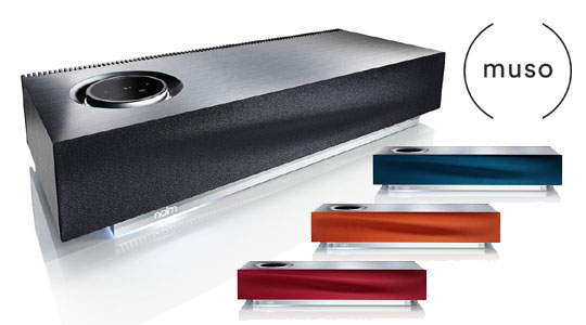 naim muso displaying all color options